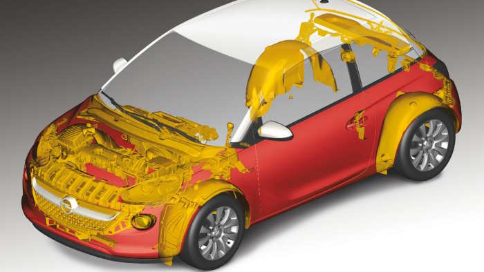 Opel Adam hat 170 receyclebare Komponenten