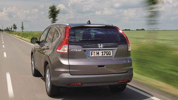 Mit 120 PS ist der Honda CR-V bestens ausgestattet.