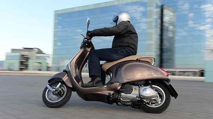 Piaggio führt Roller auch 2014 an