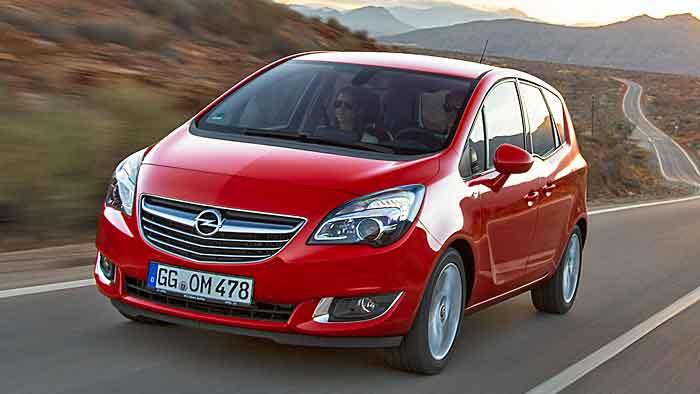 Trotz Auffrischung ist der Opel Meriva günstiger geworden.