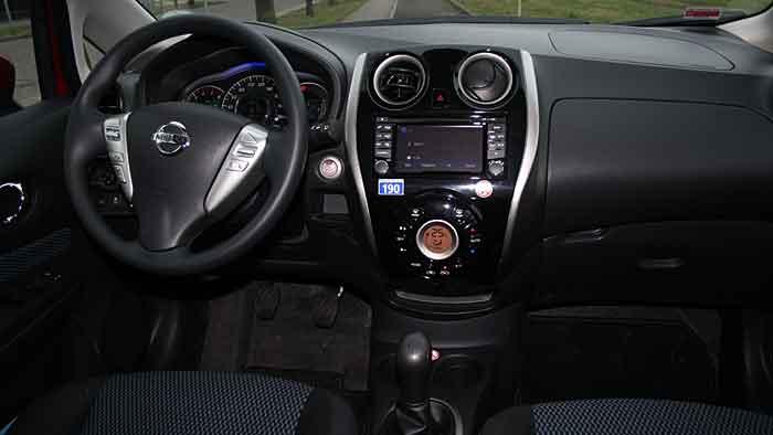 Der Nissan Note überzeugt mit vielen, zum Teil nicht sichtbaren Elementen.