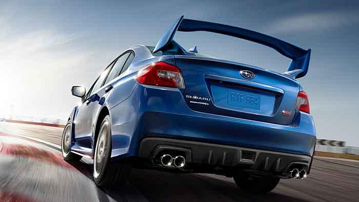 Der Subaru WRX STI ist auch für die Rennstrecke konzipiert.