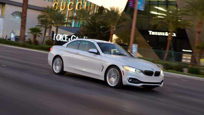 Das neue BMW 4er Cabrio.
