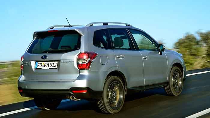 Der Subaru Forester verrichtet seine Arbeit recht unauffällig.