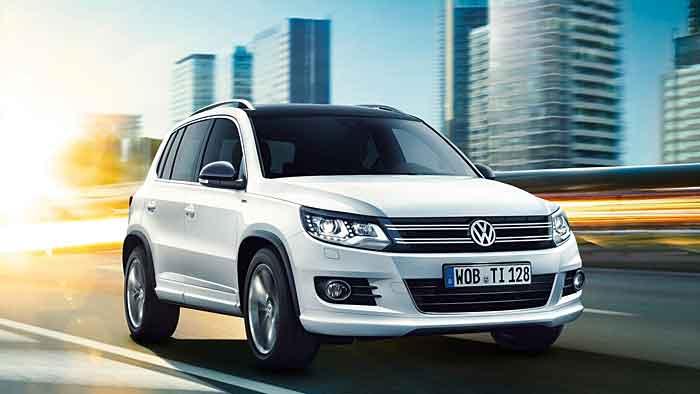 Der VW Tiguan wird in diesem Jahr abgelöst.