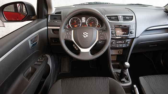 Der Suzuki Swift ist einfach, aber funktionell gestrickt.
