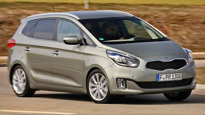 Die Kia Carens Fifa World Cup Edition.