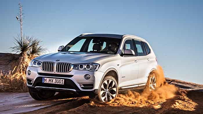Der BMW X3 erhält einen sparsameren Diesel.
