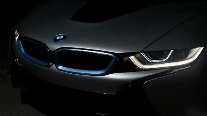 Laserlicht am BMW i8