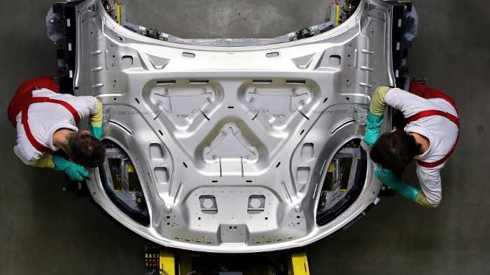 Der Porsche Macan wird in Leipzig gebaut.