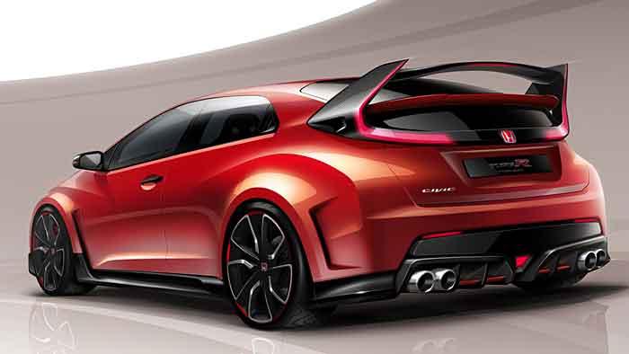 Der neue Honda Civic Type-R kommt 2015.