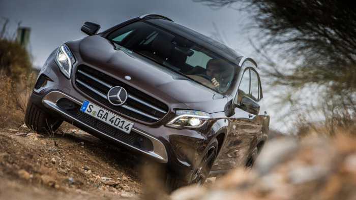 Der Mercedes GLA schaffte die Tests mit Bravour.