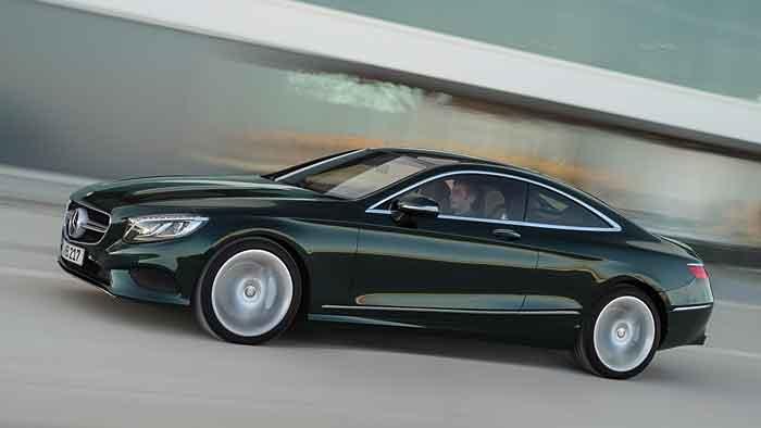 Mercedes feiert Premiere mit S-Klasse Coupé