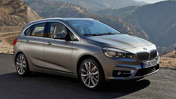 Der 2er Active Tourer ist beliebt - wirft aber nicht so viel Gewinn ab für BMW wie größere Fahrzeuge
