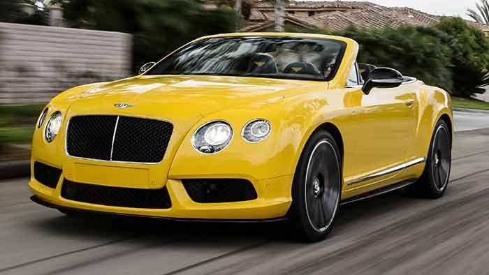 Bentley Continental GT V8 S: Porsche als Vorbild