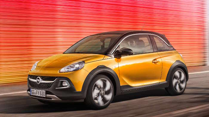 Der Opel Adam Rocks.