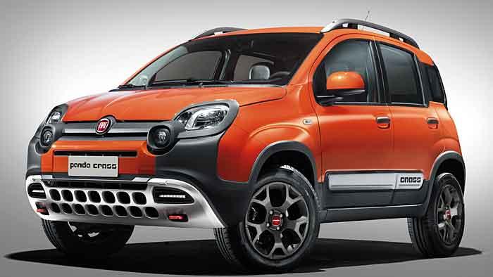 Fiat stattet den Panda fürs Gelände aus.