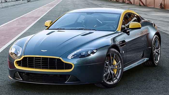 Aston Martin erleichtert den V8 Vantage S.