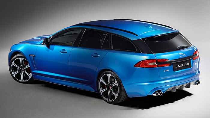 Jaguar feiert in Genf die Premiere des bärenstarken XFR-S.