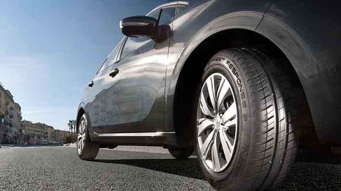Der Dunlop Street Response 2 ist für kleinere Fahrzeuge bestimmt.