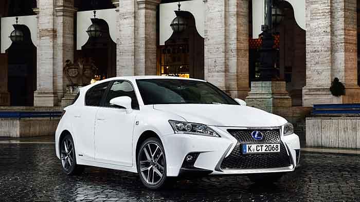 Der neue Lexus CT 200h ist sparsamer geworden.