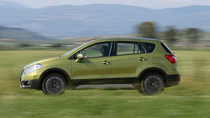 Der Suzuki SX4 S-Cross punktet auch mit seinen Platzverhältnissen.