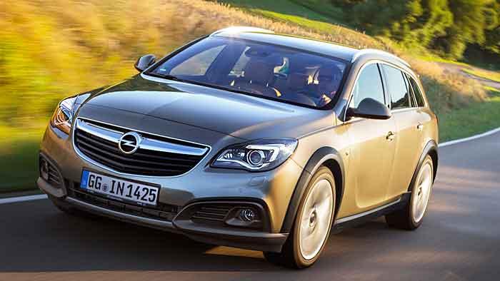 Der Opel Insignia Country Tourer lädt zu langen Strecken ein.