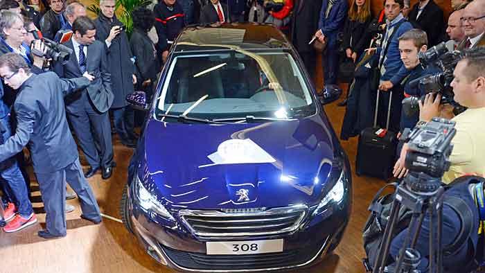 Peugeot 308 ist Auto des Jahres
