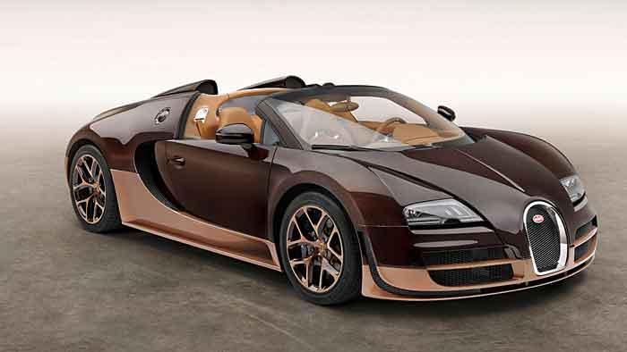 Bugatti zeigt vierte Legende