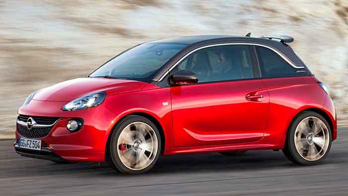 2015 am Start: der Opel Adam S.