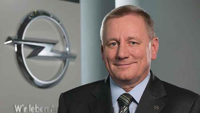 Opel-Vertriebsvorstand Peter Christian Küspert