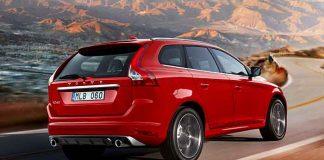 Der Volvo XC60 ist mit einem Notbremssystem ausgestattet.