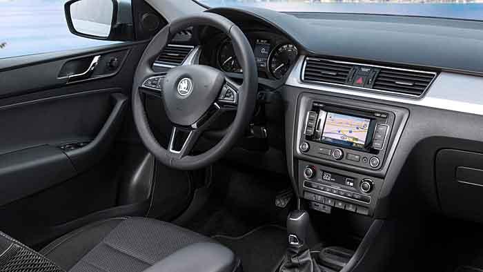 Der Skoda Rapid Spaceback bedient sich im VW-Konzernregal.
