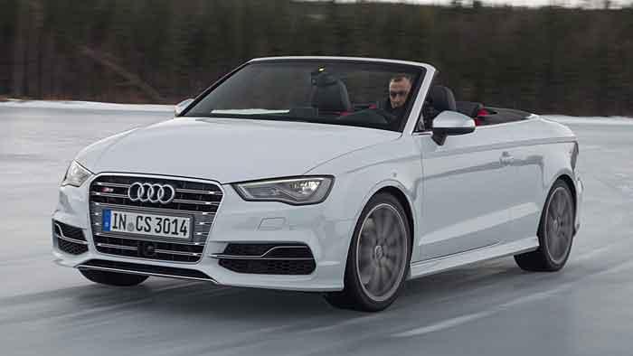 Audi schickt das S3 Cabrio mit 300 PS ins Rennen.