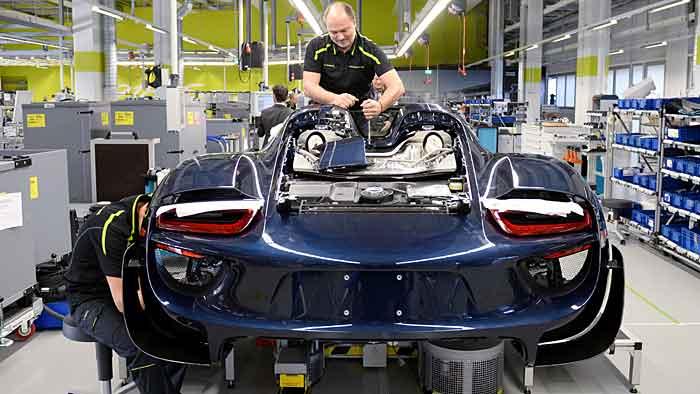 Porsche schüttet Bonus an Mitarbeiter aus