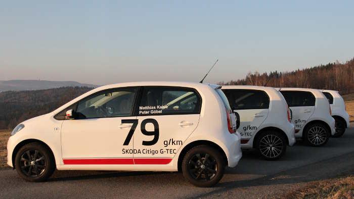 Rallyepilot Kahle setzt im Skoda Citigo auf Effizienz