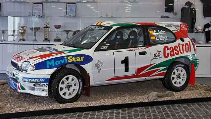 Mit dem Corolla feierte der Spanier Carlos Sainz viele Erfolge für Toyota.