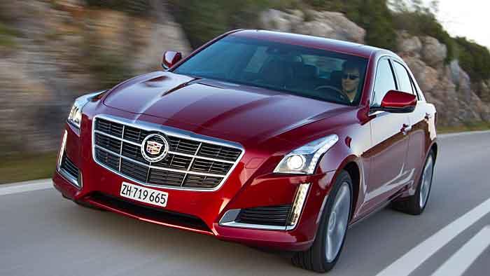 Der Cadillac CTS soll sich im Premiumsegment etablieren.