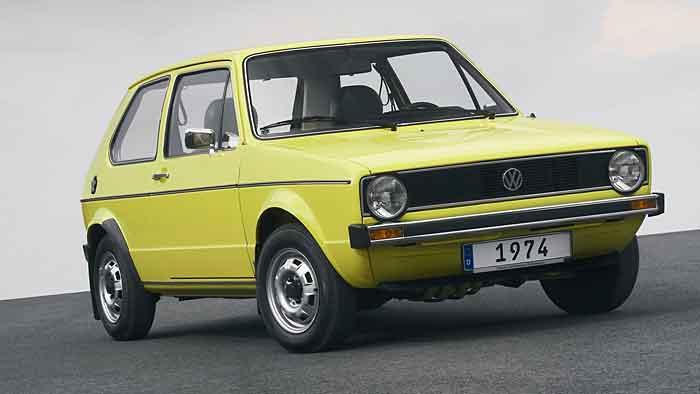 Der erste VW Golf kam 1974 auf den Markt