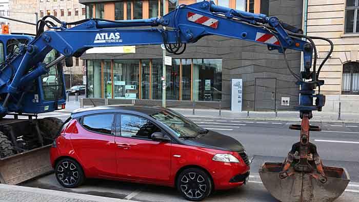 Der Lancia Ypsilon ist auf deutschen Straßen nur selten zu sehen.