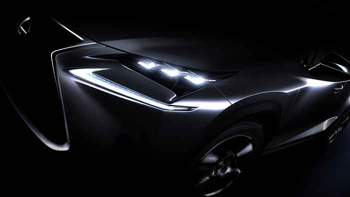 Lexus hat beim NX die Polarisierungen beibehalten.