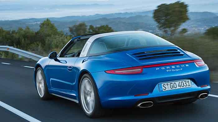 Der Porsche 911 Targa sorgt für guten Absatz.