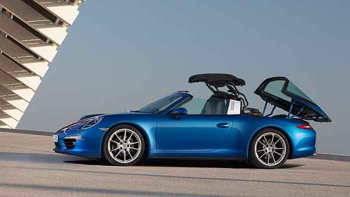 Porsche hat den 911 Targa wieder aufgelegt.