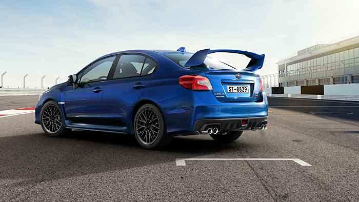 Subaru hat den WRX STI mit 300 PS ausgestattet.