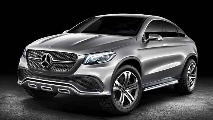 Mercedes stellt auf der Messe in Peking ein SUV-Coupé vor.