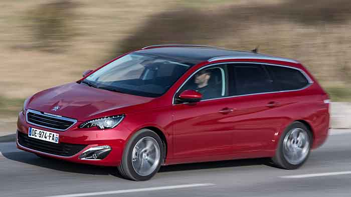 Der Peugeot 308 SW ist 33 Zentimeter länger als die Limousine.