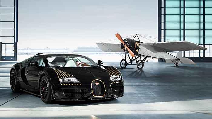 Bugatti bringt mit «Black Bess» fünftes Sondermodell