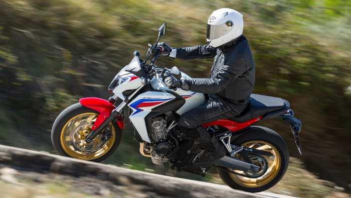Die Honda Bietet Ein Gutes Handling