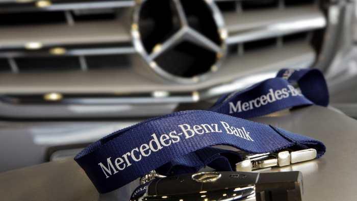 Autobank von Mercedes