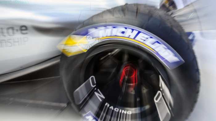 Ein Reifen von Michelin